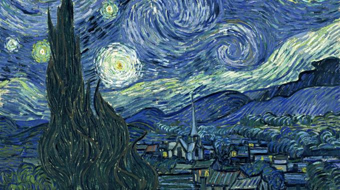 Notte stellata una delle opere pi famose di vincent for La notte stellata vincent van gogh