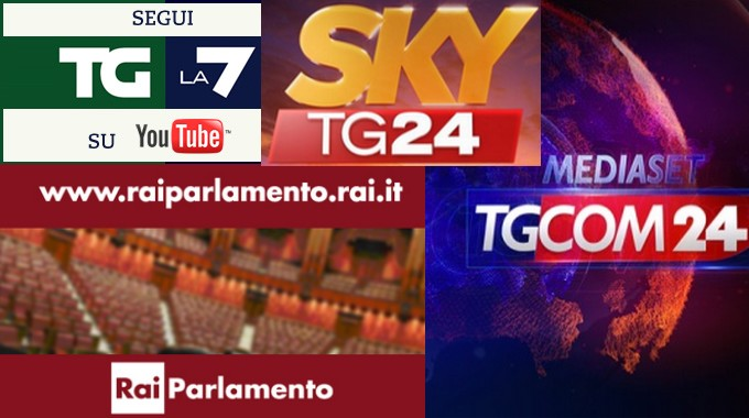 Speciale elezione quirinale maratona in tv tv for Parlamento diretta tv
