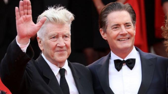 David Lynch a Cannes:
