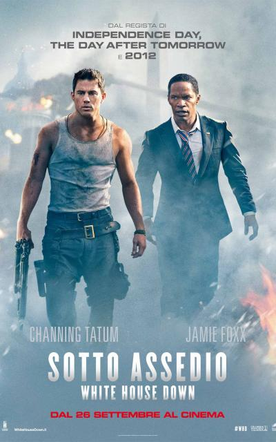 locandina - Sotto assedio - White House Down