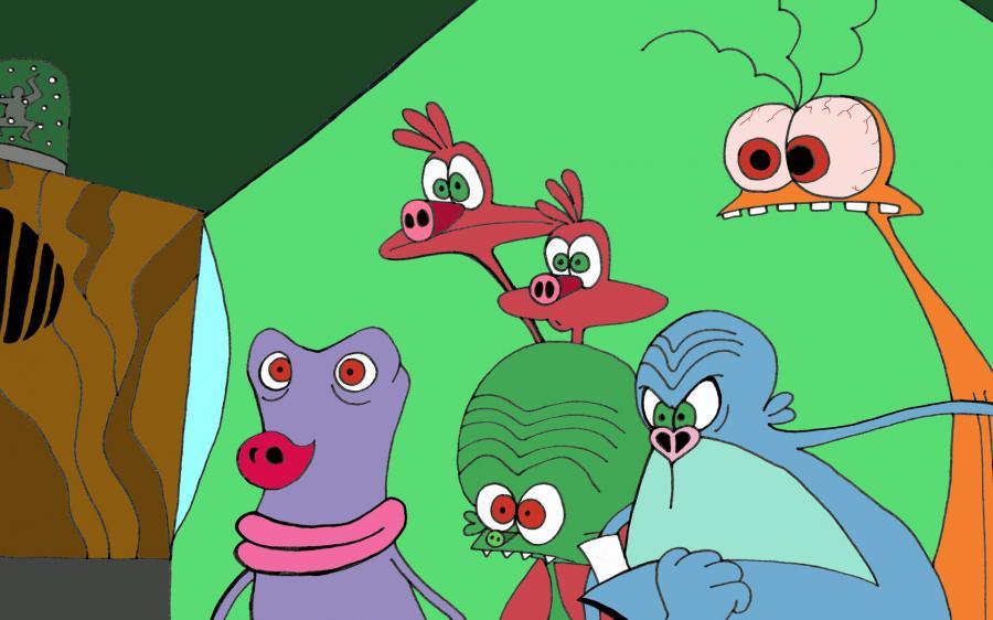 Cartoni animati space goofs guida tv scheda canali e