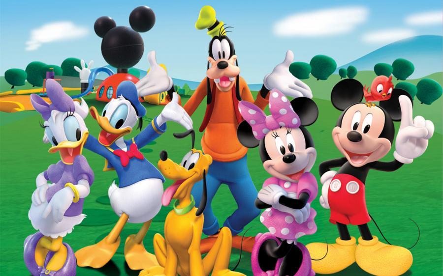 Cartoni animati la casa di topolino s e guida