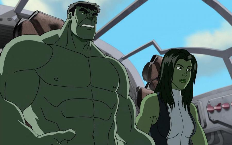 Cartoni animati hulk e gli agenti s m a s h guida tv scheda