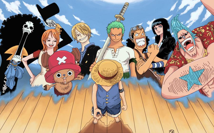 All'arrembaggio! one piece