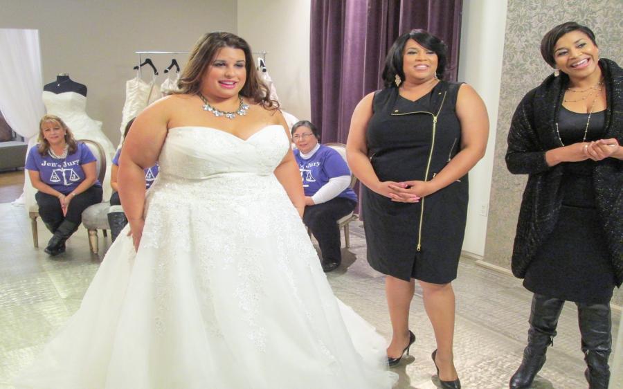 Vestiti Da Sposa Xxl.Spettacolo Abito Da Sposa Cercasi Xxl S 2 E 13 Guida Tv