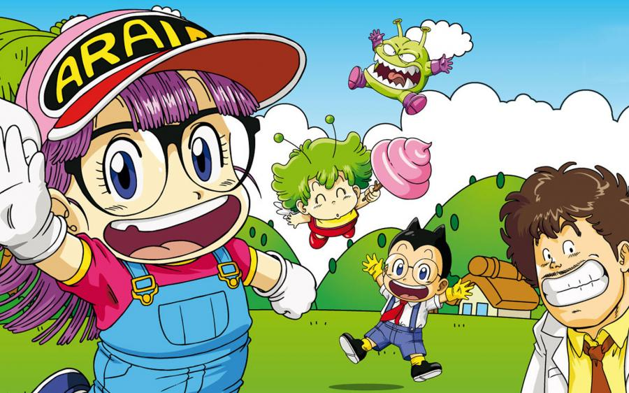 What a mess Slump e Arale