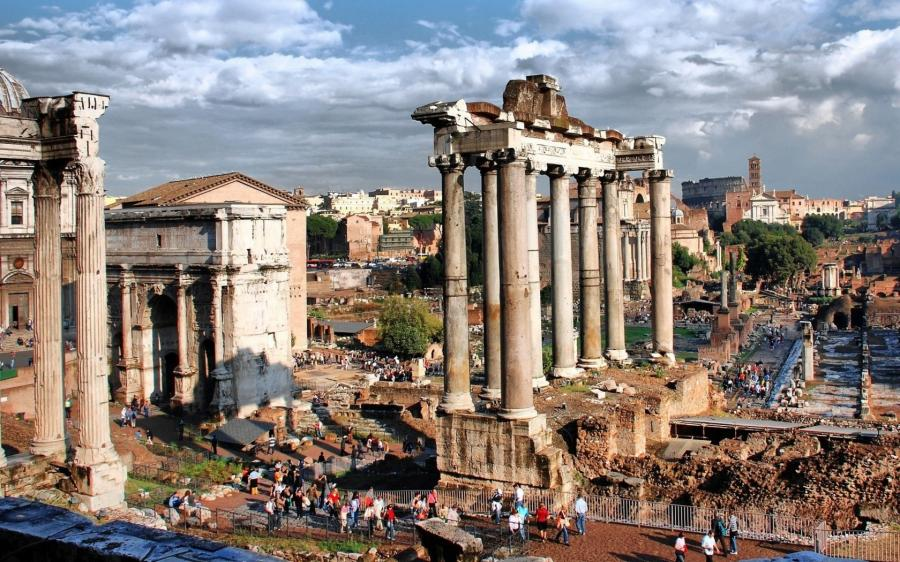 Documentario roma la prima metropoli guida tv scheda for Metropoli in italia