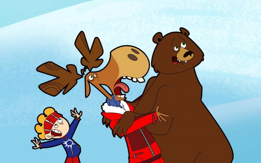 Cartoni animati tutti pazzi per moose guida tv scheda