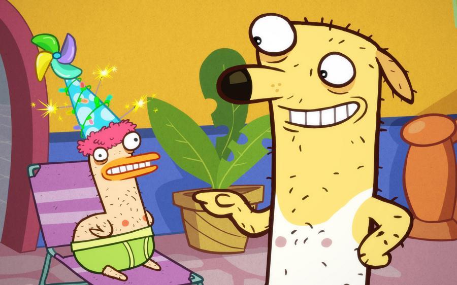 Cartoni animati animali in mutande guida tv scheda