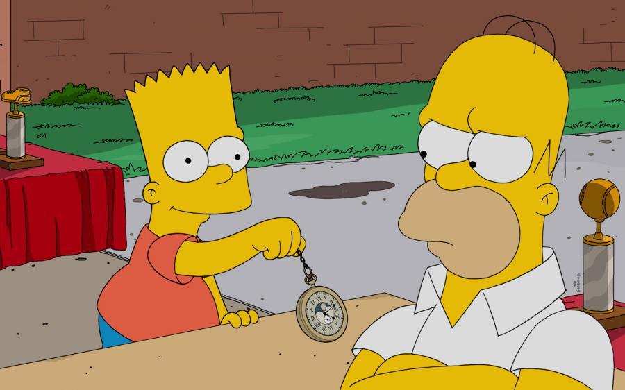 The simpsons i peluche dei personaggi della serie animata