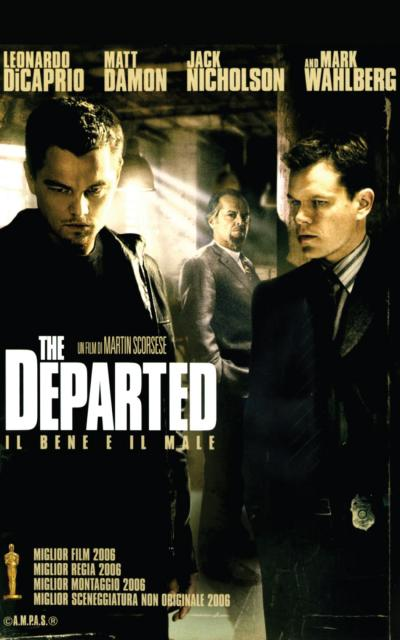 locandina - The Departed - Il bene e il male