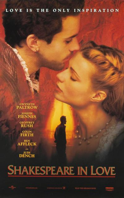 Shakespeare in love deception for affection