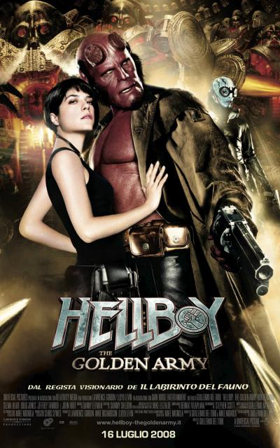 locandina - Hellboy: the golden army