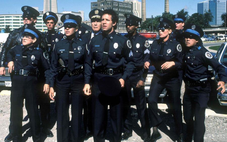 Capo della polizia a treviso premia poliziotti della stradale